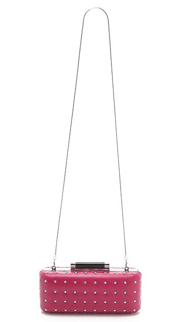 Diane von Furstenberg Tonda Studded Clutch