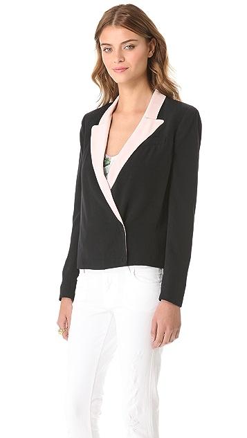 Diane von Furstenberg Pamela Soft Canvas Jacket