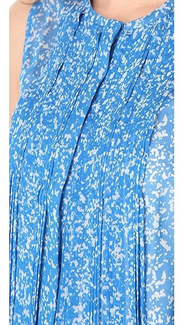 Diane von Furstenberg Israel Printed Sleeveless Top