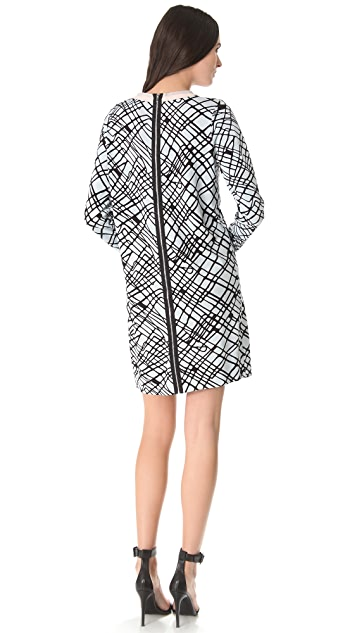 Diane von Furstenberg Jenetta Zip Back Dress