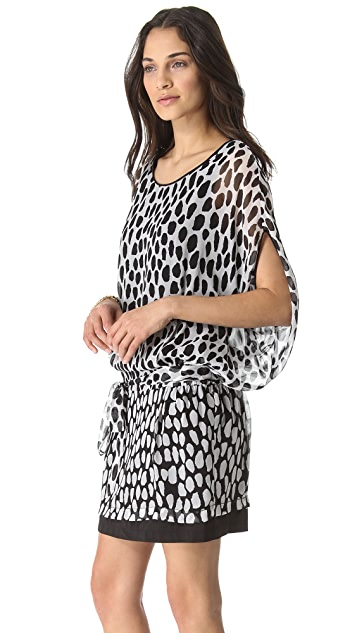 Diane von Furstenberg Robyn Printed Dress