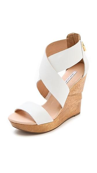 Diane von Furstenberg Opal Wedge Sandals