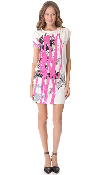 Diane von Furstenberg Tara Candy Branch Dress