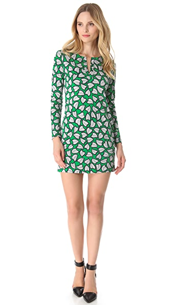 Diane von Furstenberg Reina Long Sleeve Dress