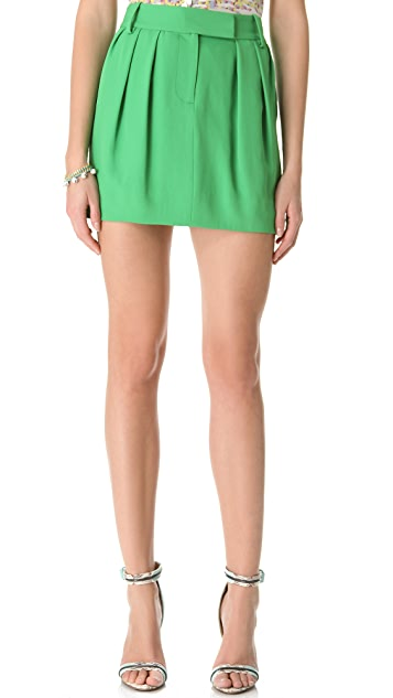 Diane von Furstenberg Angelica Canvas Skirt