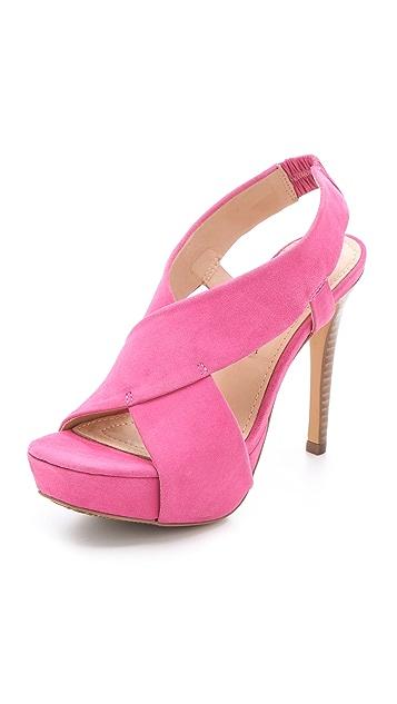 Diane von Furstenberg Zia II Platform Sandals