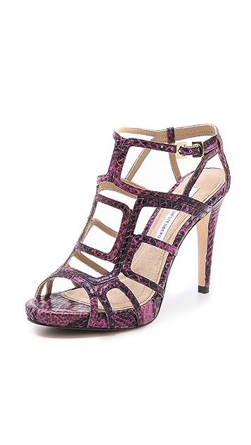 Diane von Furstenberg Jeanette Cutout Sandals