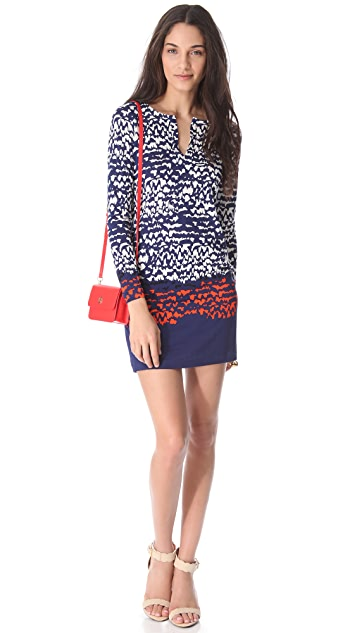 Diane von Furstenberg Reina Dress with Long Sleeves