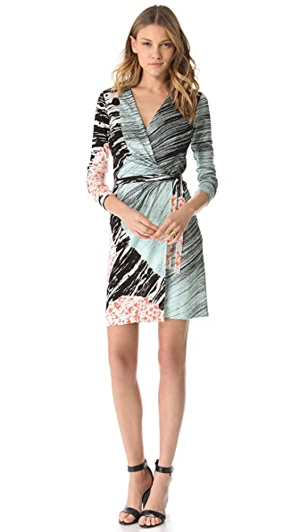 Diane von Furstenberg Valencia Long Sleeve Dress