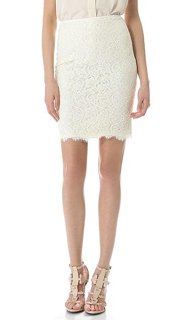 Diane von Furstenberg Scotia Lace Skirt