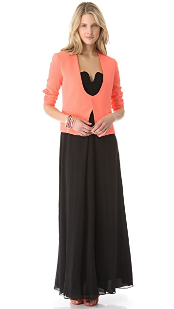 Diane von Furstenberg Asti Two Long Dress