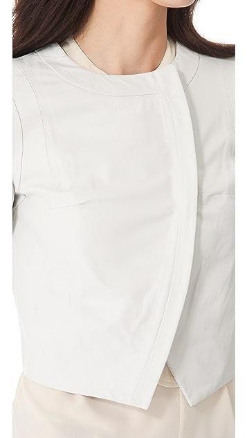 Diane von Furstenberg Sardinia Leather Jacket