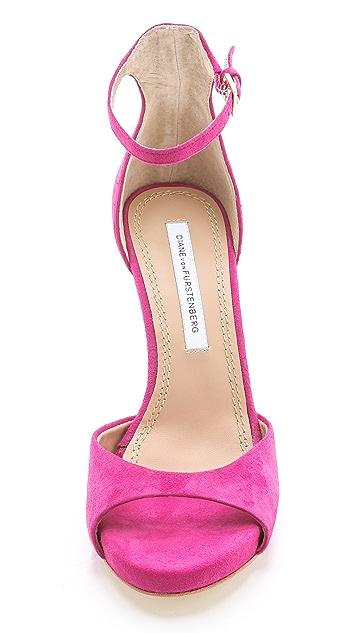 Diane von Furstenberg Sofia Chained Sandals