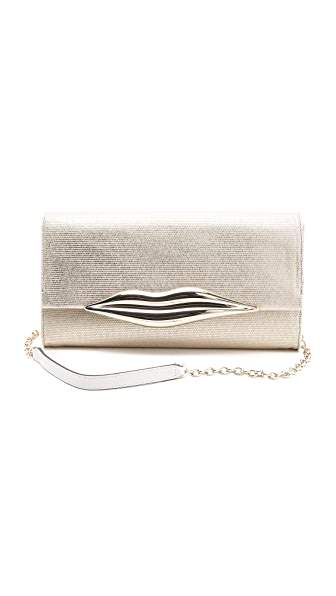 Diane von Furstenberg Carolina Canvas Clutch