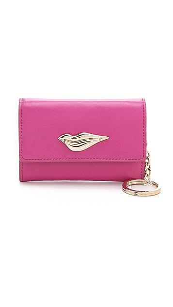 Diane von Furstenberg Lips Card Wallet