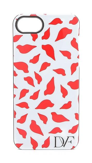Diane von Furstenberg Lips iPhone 5 Case