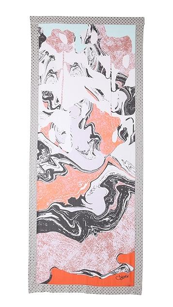 Diane von Furstenberg Spencer Embellished Scarf