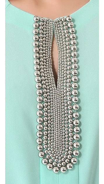 Diane von Furstenberg Elma Embellished Blouse