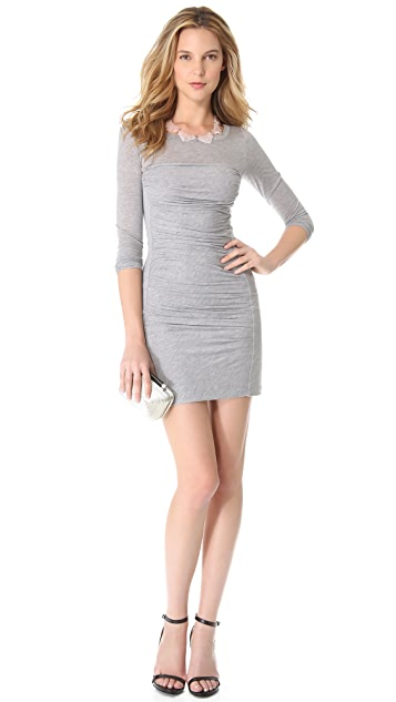 Diane von Furstenberg Lerosa Ruched Dress