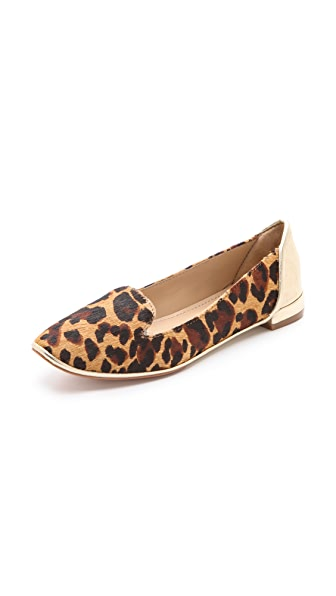 Diane von Furstenberg Carley Haircalf Loafers