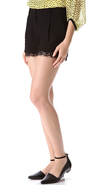 Diane von Furstenberg Yara Shorts