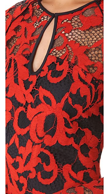 Diane von Furstenberg Gadie Lace Dress