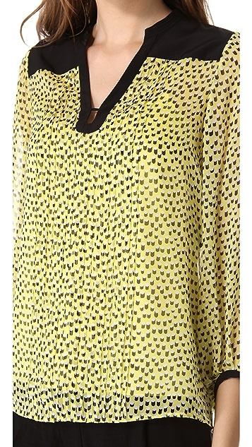 Diane von Furstenberg Tanyana Print Tunic