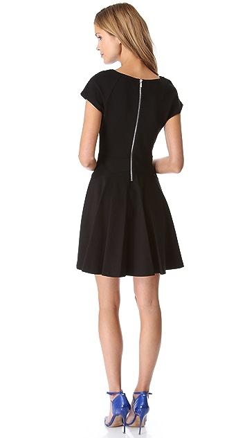 Diane von Furstenberg Delyse Short Sleeve Dress