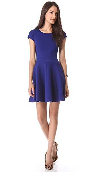 Diane von Furstenberg Delyse Short Sleeve Dress