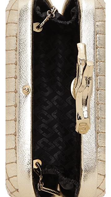 Diane von Furstenberg Lytton Quilted Leather Clutch