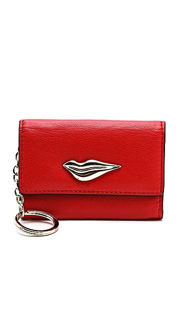 Diane von Furstenberg Lips Card Case
