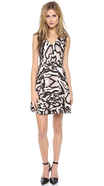 Diane von Furstenberg Renna Printed Dress