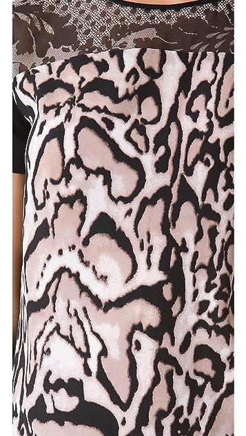 Diane von Furstenberg Becky Print Top