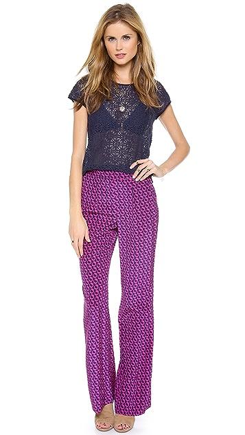 Diane von Furstenberg Petunia Wide Leg Pants