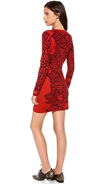 Diane von Furstenberg Farley Sweater Dress