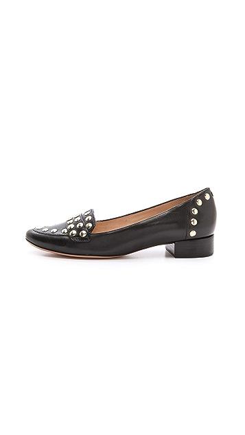 Diane von Furstenberg Cadence Studded Loafers