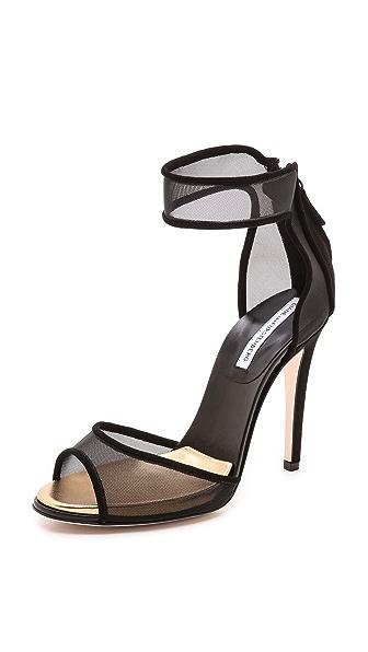 Diane von Furstenberg Rae Mesh Sandals