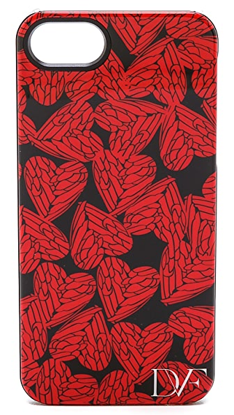 Diane von Furstenberg Free Hearts iPhone 5 / 5S Case