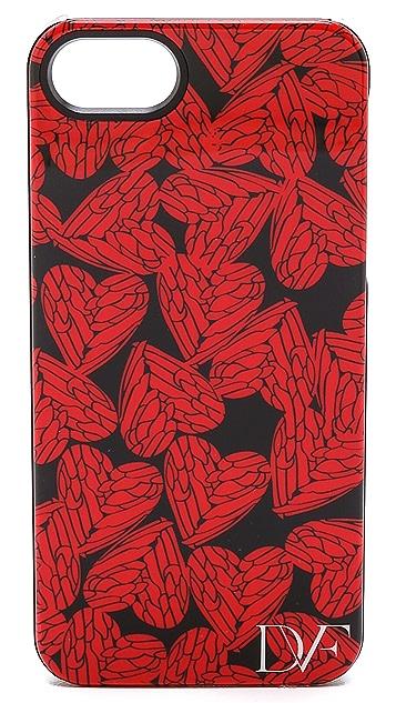 Diane von Furstenberg Free Hearts iPhone 5 / 5S Case