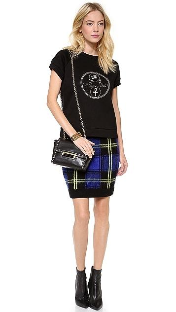 Diane von Furstenberg 440 Mini Studded Satchel