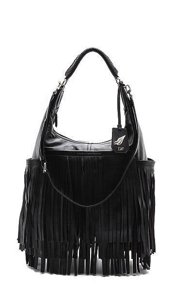 Diane von Furstenberg Franco Fringe Leather Bag
