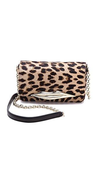 Diane von Furstenberg Flirty Clutch Cross Body Bag