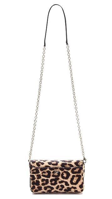 Diane von Furstenberg Flirty Clutch Cross Body Bag