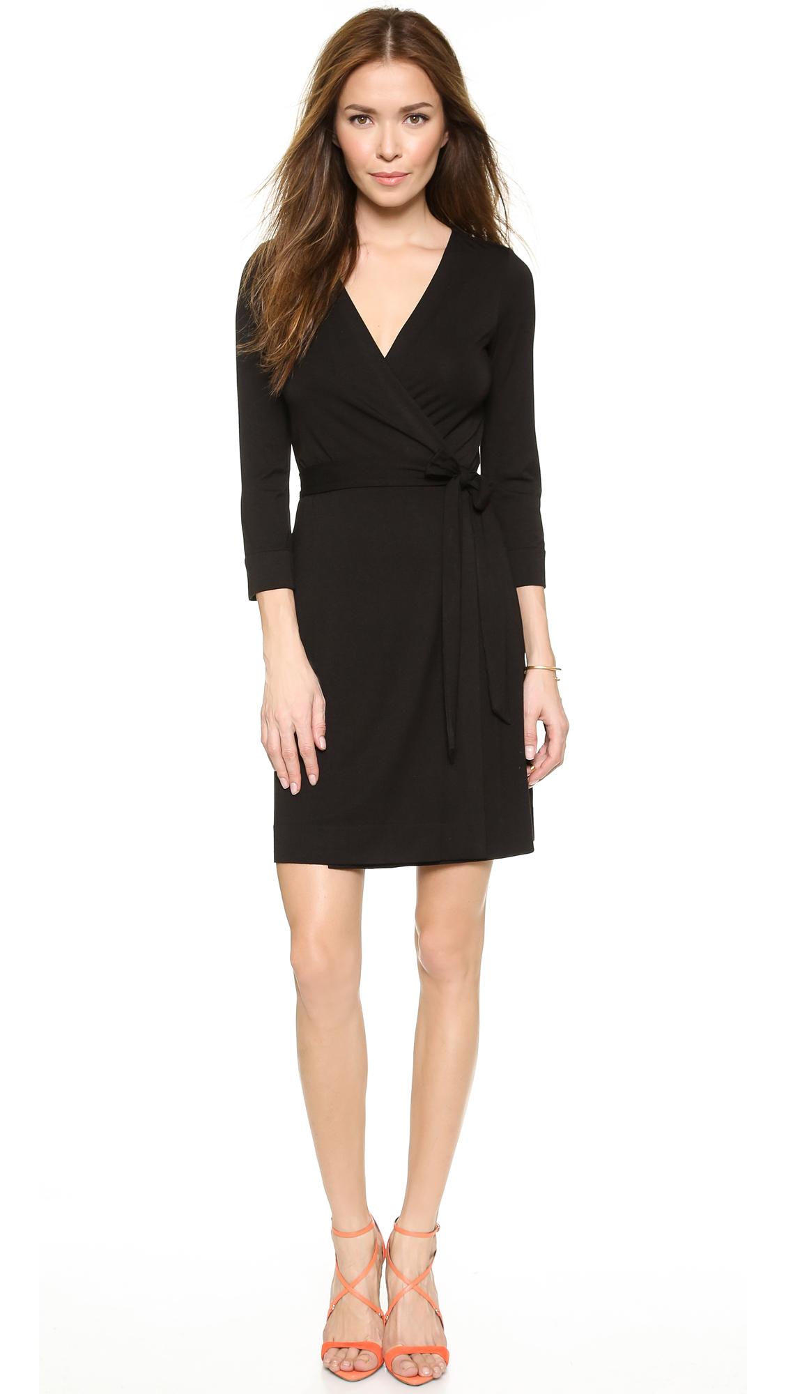 Diane von Furstenberg Julian Mini Wrap Dress  SHOPBOP