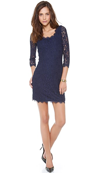 Diane von Furstenberg Zarita Scoop Dress