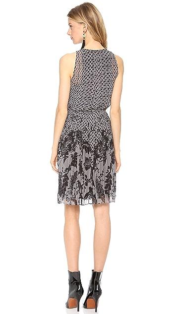 Diane von Furstenberg Ria Printed Chiffon Dress