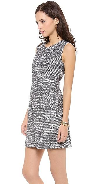 Diane von Furstenberg Carpreena Tweed Mini Dress