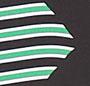 Sailor Chevron Hot Green/Black