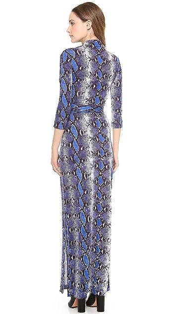 Diane von Furstenberg Abigail Maxi Wrap Dress