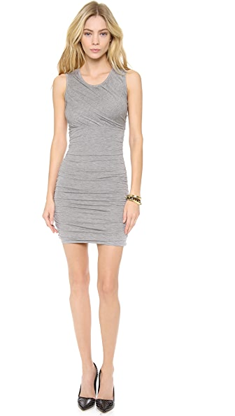 Diane von Furstenberg Angelina Ruched Jersey Dress